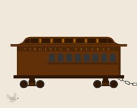Train Car 1 Fine Art Print