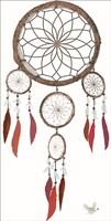 Tribal Cherokee Dreamcatcher Fine Art Print