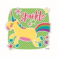 Sparkle Unicorn Fine Art Print