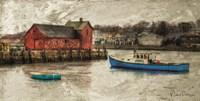 Harbor Life Fine Art Print