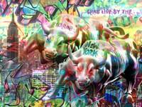 Wall Street Bull Fine Art Print