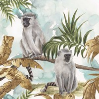 Golden Monkeys Framed Print