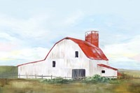 Red Barn II Fine Art Print