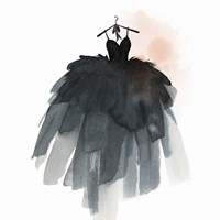 Little Black Dress III Fine Art Print