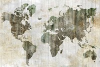 World Map I Fine Art Print