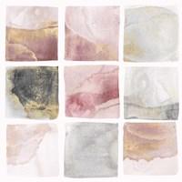 Blush Squares I Fine Art Print