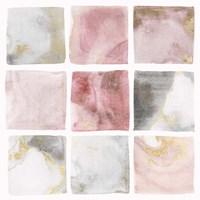 Blush Squares II Fine Art Print