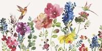 Garden Rumble Fine Art Print
