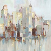 City Escape I Fine Art Print