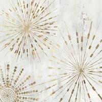 Golden Stars I Fine Art Print