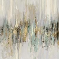 Dripping Gold II Fine Art Print