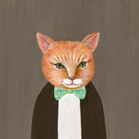Mr Ginger Fine Art Print