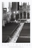 Church Aisle Framed Print