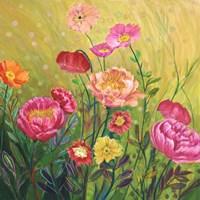 Flower Field II Fine Art Print