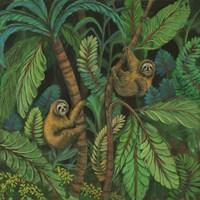 Sloth Jouorney I Fine Art Print