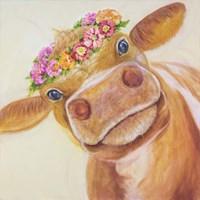 Zen Cow Fine Art Print
