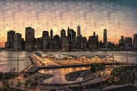 Lower Manhattan at Twilight Fine Art Print