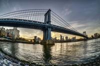 Manhattan Bridge & Skyline A Fine Art Print
