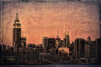 Empire State Building at Twilight Fine Art Print