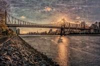 Sunset Behind Queensboro B Fine Art Print
