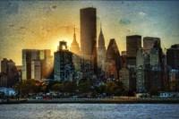 Mid-Manhattan Sunset A Fine Art Print