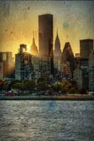 Mid-Manhattan Sunset B Fine Art Print