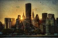 Mid-Manhattan Sunset D Fine Art Print