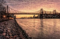 Queensboro at Twilight B Fine Art Print