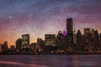 Mid-Manhattan Twilight B Fine Art Print