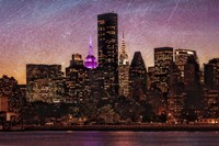 Mid-Manhattan Twilight C Fine Art Print