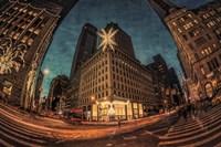 NYC Ornamental Snowflake Fine Art Print
