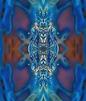 Sapphire Queen Fine Art Print