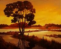 Evening Water II Fine Art Print