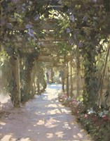 Vine And Violet Fine Art Print