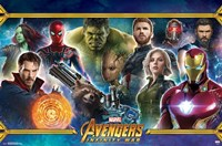 Avengers Infinity War (team) Wall Poster
