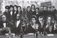 Movie Gangsters Wall Poster