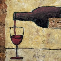 Red Wine Pour Fine Art Print