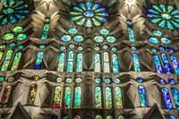 Colorful Barcelona 8 Framed Print