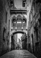 Barri Gotica Barcelona Fine Art Print