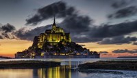 Mont Saint Michel France Fine Art Print