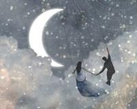 Celestial Love I Framed Print