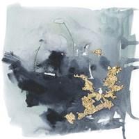 Cerulean & Gold I Fine Art Print