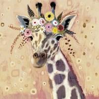 Klimt Giraffe I Fine Art Print