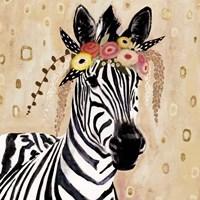 Klimt Zebra I Fine Art Print