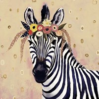 Klimt Zebra II Fine Art Print