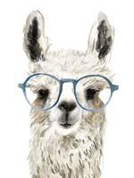 Hip Llama II Fine Art Print