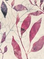 Between the Leaves II Framed Print
