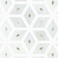 Seaglass Tiles I Framed Print