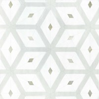 Seaglass Tiles II Framed Print