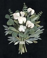 Cut Paper Bouquet I Framed Print